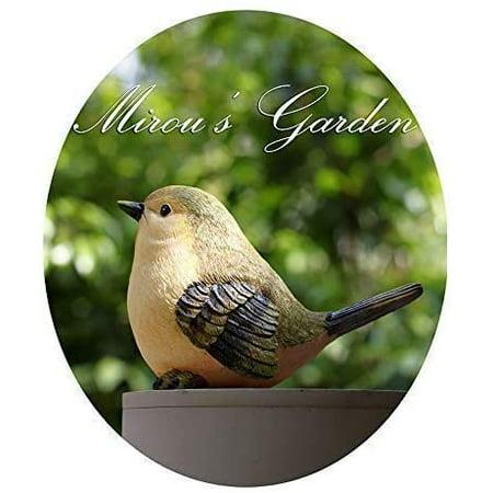 Garden Bird Statue Funny Sculpture, Outdoor Bird Statues