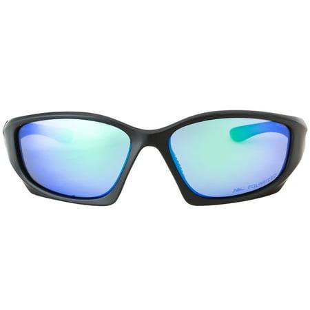3fc861a83f HORNZ - HZ Series Pro - Premium Polarized Sunglasses by Hornz - Matte Gun  Metal Grey Frame - Blue Ice Mirror Lens - Walmart.com
