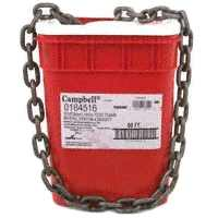 CAMPBELL 0184416 Chain,100ft,1/4in,High Test,Self Colored G4019675