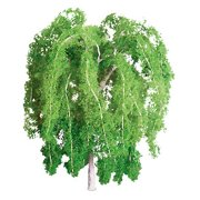 """JTT Scenery Products 94270 3"""" Weeping Willow Trees (2 Pack)"""