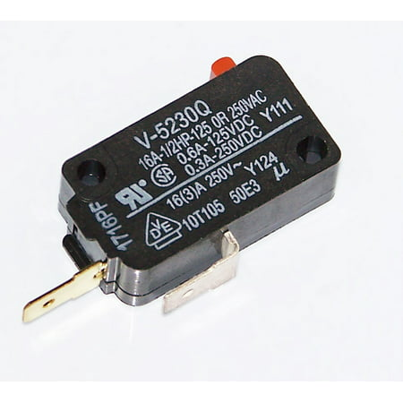 - New OEM Sharp Microwave Second Interlock Switch For R1752, R-1752, R1874, R-1874