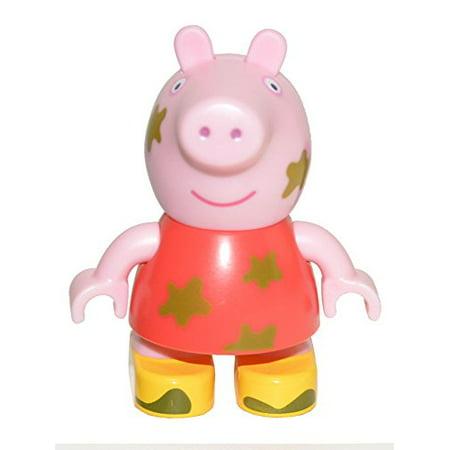Peppa Pig Build Play Small Figure Bag - Muddy Puddles Peppa Pig (Peppa Pig Muddy Puddles)