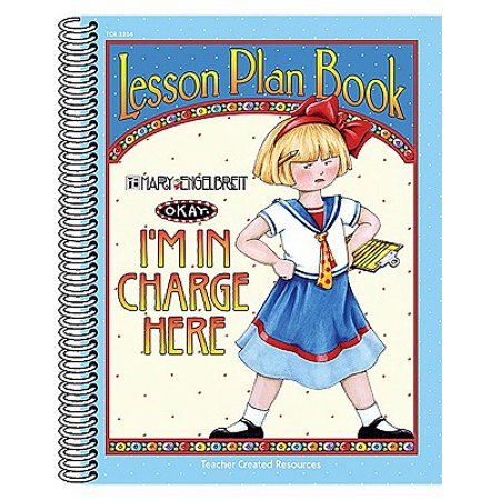 I'm in Charge Here Lesson Plan Book from Mary