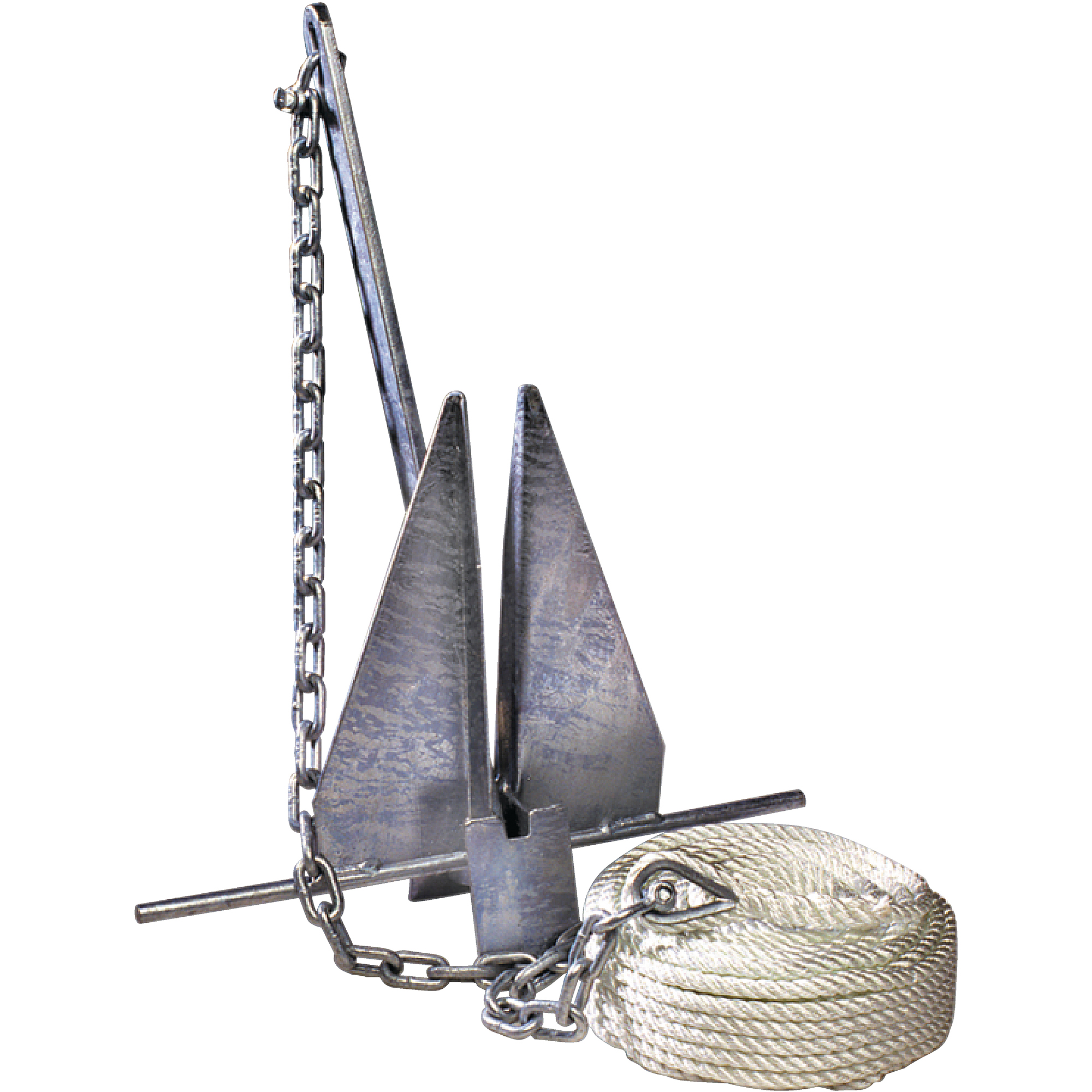 Tie Down Engineering Super Hooker Anchor Kit Includes Anchor, Anchor Line, Anchor Chain and 2 Shackles
