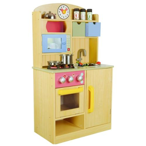 teamson chef burly wood kitchen with