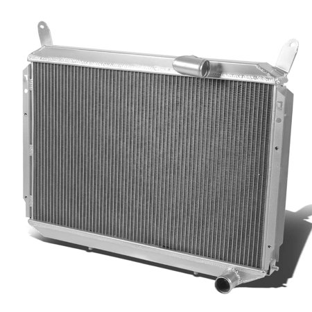 For 1984 to 1988 Nissan 300ZX Full Aluminum 2 -Row Dual Core Racing Radiator - Fairlady Z Z31 VG30 85 86 87