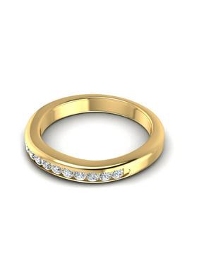 0.30CT Round Cut Diamonds Wedding Band