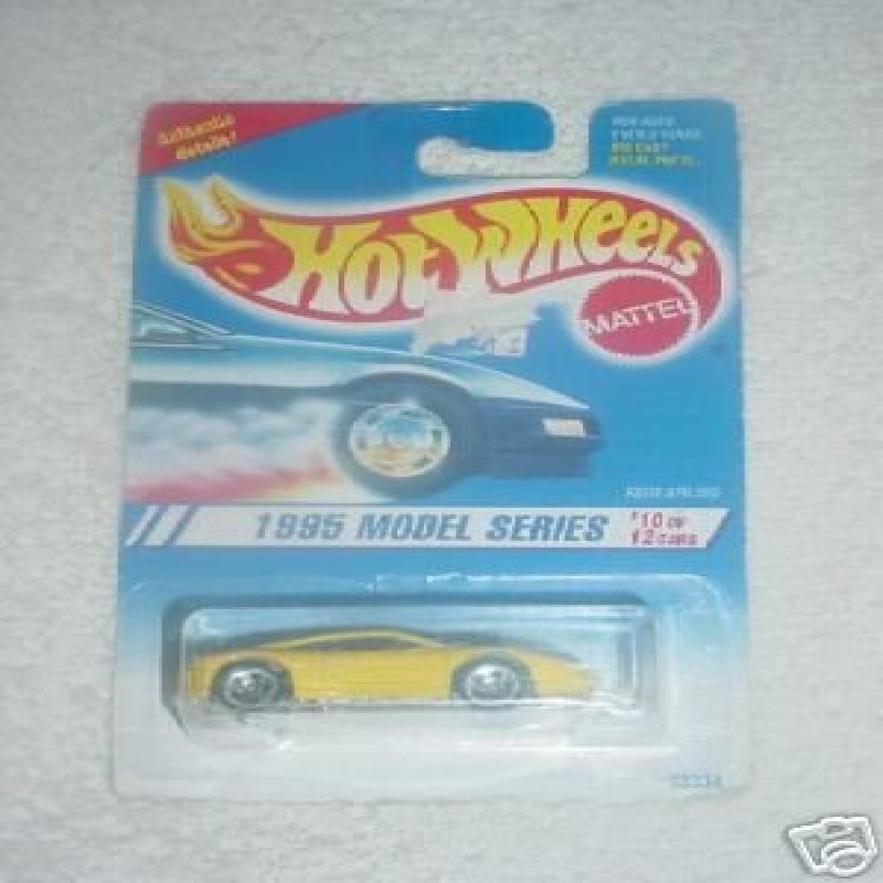 Hot Wheels 1995 Model Series Ferrari 355 #10 12 Col#350 1:64 Scale by Mattel by
