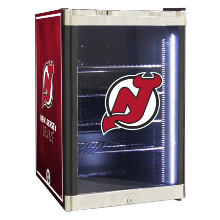 NHL Refrigerated Beverage Center 2.5 cu ft- New Jersey Devils by