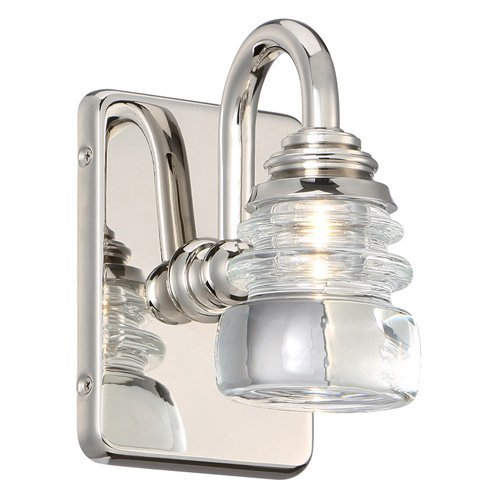 WAC Lighting Rondelle 1 Light Wall Sconce