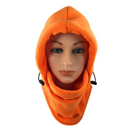 Nova Sport Wear Fleece Balaclava/Hooded Face Mask/Neck Warmer/Ski & Snowboard Mask/Wind Protector/Multipurpose Cold Weather Gear For Men & Women