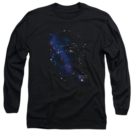 Star Trek - Spock Constellations - Long Sleeve Shirt - X-Large