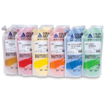 Holbein Gesso (HOLBEIN ARTISTS COLORS A666 ACRYLA GESSO RED OCHRE 300ML )