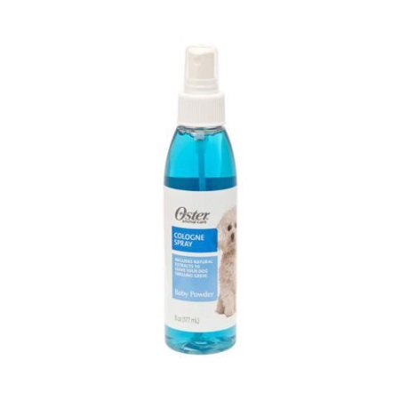 Oster Cologne Spray For Dogs, Baby Powder, 6 Oz
