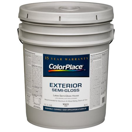 Colorplace Exterior Semi Gloss Paint White