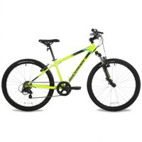"Btwin by DECATHLON - Mountain Bike ST 500 - 24"" - Yellow - Kids"