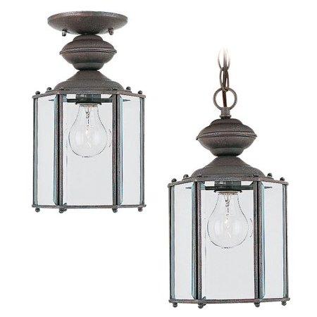 Sea Gull Lighting 6008 Classico 1 Light Outdoor Small Lantern Pendant