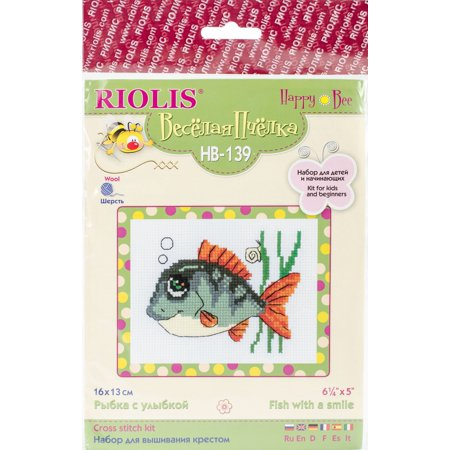 RIOLIS Counted Cross Stitch Kit 6.25