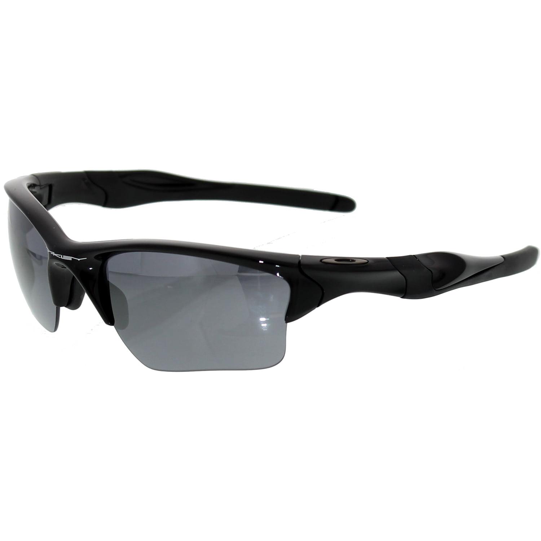 Oakley Half Jacket 2.0 XL Iridium Polished Black Frame Black Iridium Lens Mens Sunglasses OO9154-915401 by Oakley