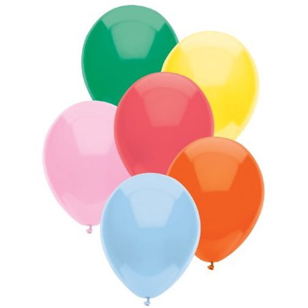 Standard Assorted 16 Inch Party Balloons (12 Count)