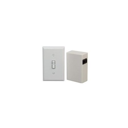 finest selection 8b59e d4037 Westek Indoor Wireless Wall Switch w/ Receiver - White RFK100LC