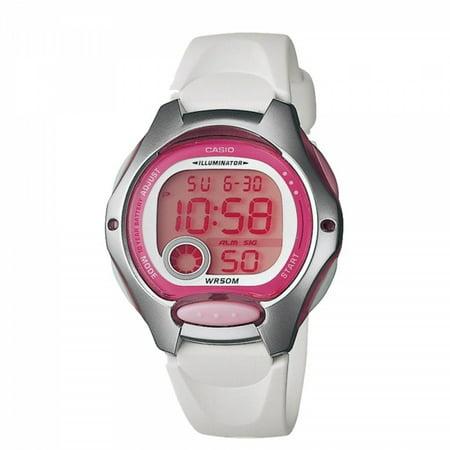 Women's Digital Sport Watch, White Resin Strap ()