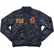Big Boy Virginia State Trojans Ladies Sequins Jacket [Navy Blue - M]