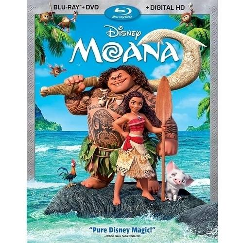 Moana (Blu-ray + DVD + Digital HD) (Widescreen)