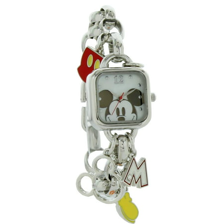 MK2228 Mickey Mouse Charm Bracelet Watch