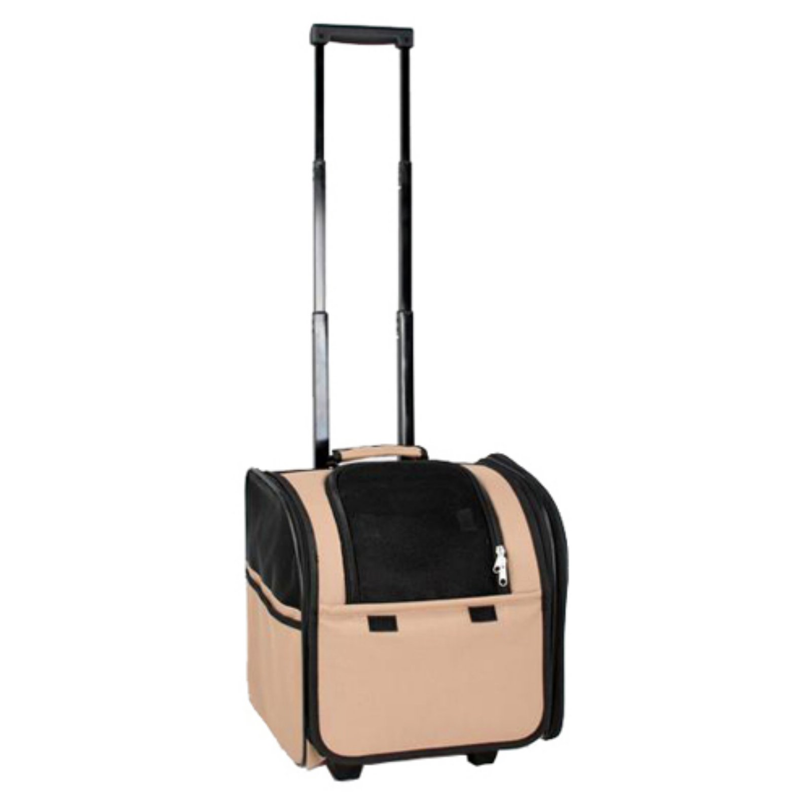 Petlife Wheeled Airline Approved Travel Pet Carrier