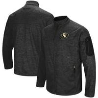 Colorado Buffaloes Colosseum Anchor Full-Zip Jacket - Heathered Charcoal