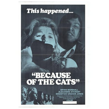 Because of the Cats POSTER Movie (27x40)