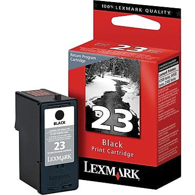 Lexmark (#23) Black Return Program Print Cartridge 18C1523