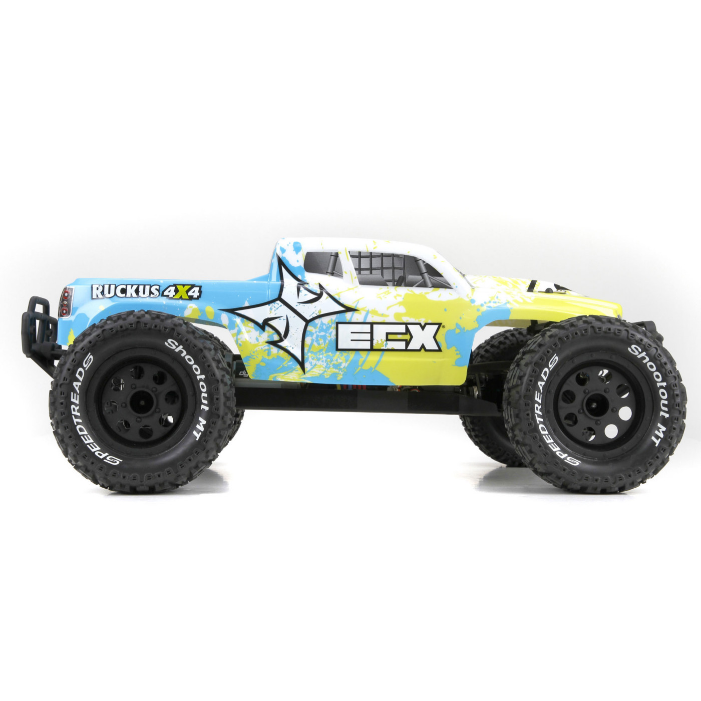 ECX 03042 1/10 Ruckus 4wd Monster Truck Brushed: Ready-to-Run