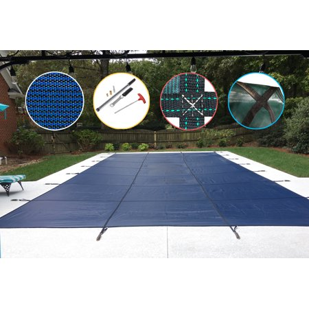 WaterWarden Mesh Safety Pool Cover for In Ground Pools