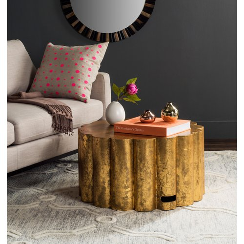 Safavieh Miriam Coffee Table, Gold