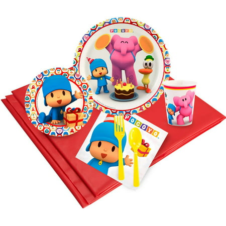 Pocoyo Party Pack for 24 - Party City Pocoyo