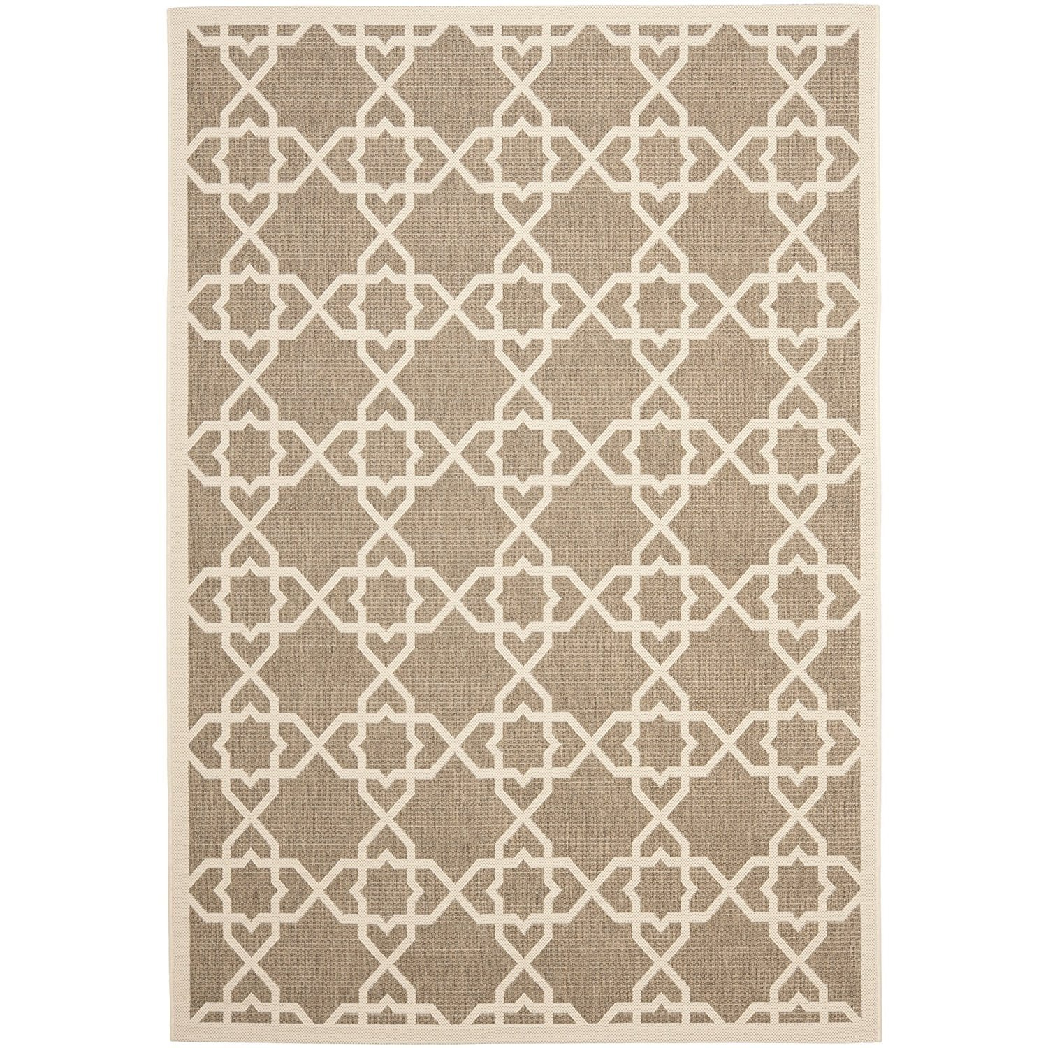 Safavieh Courtyard Collection Cy6032 242 Brown And Beige Indoor