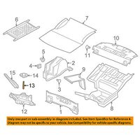 CHRYSLER OEM Jack-Rear Body & Floor-Jack Bolt 6510265AA