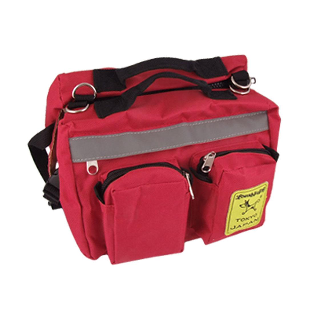 Unique Bargains Multifunctional Hiking Traveling Pet Dog Cat Backpack Knapsack Saddlebag Size L