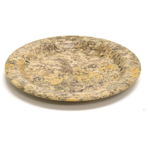 Nature Home Decor Fossil Stone Plate