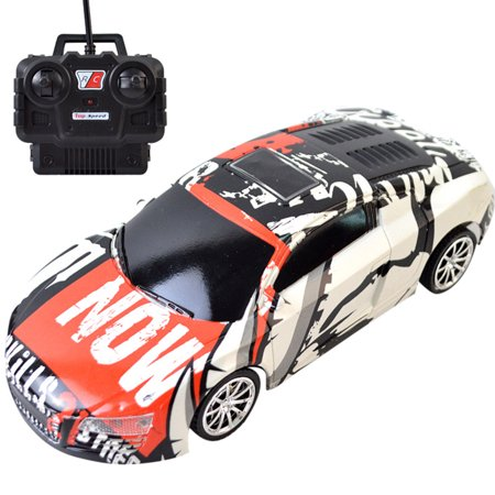 Outtop RC Car Electric Racing Drift Car 1/24 4WD Radio High Speed Racer Car for Kids