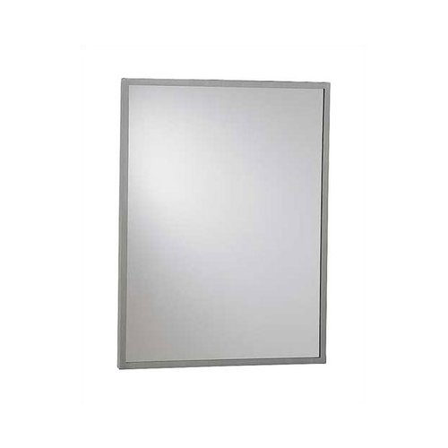 American Specialties Inter-Lok Angle Frame Wall Mirror