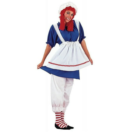 Halloween Rag Doll Plus Size Adult Costume - Plus Size Voodoo Doll Costume