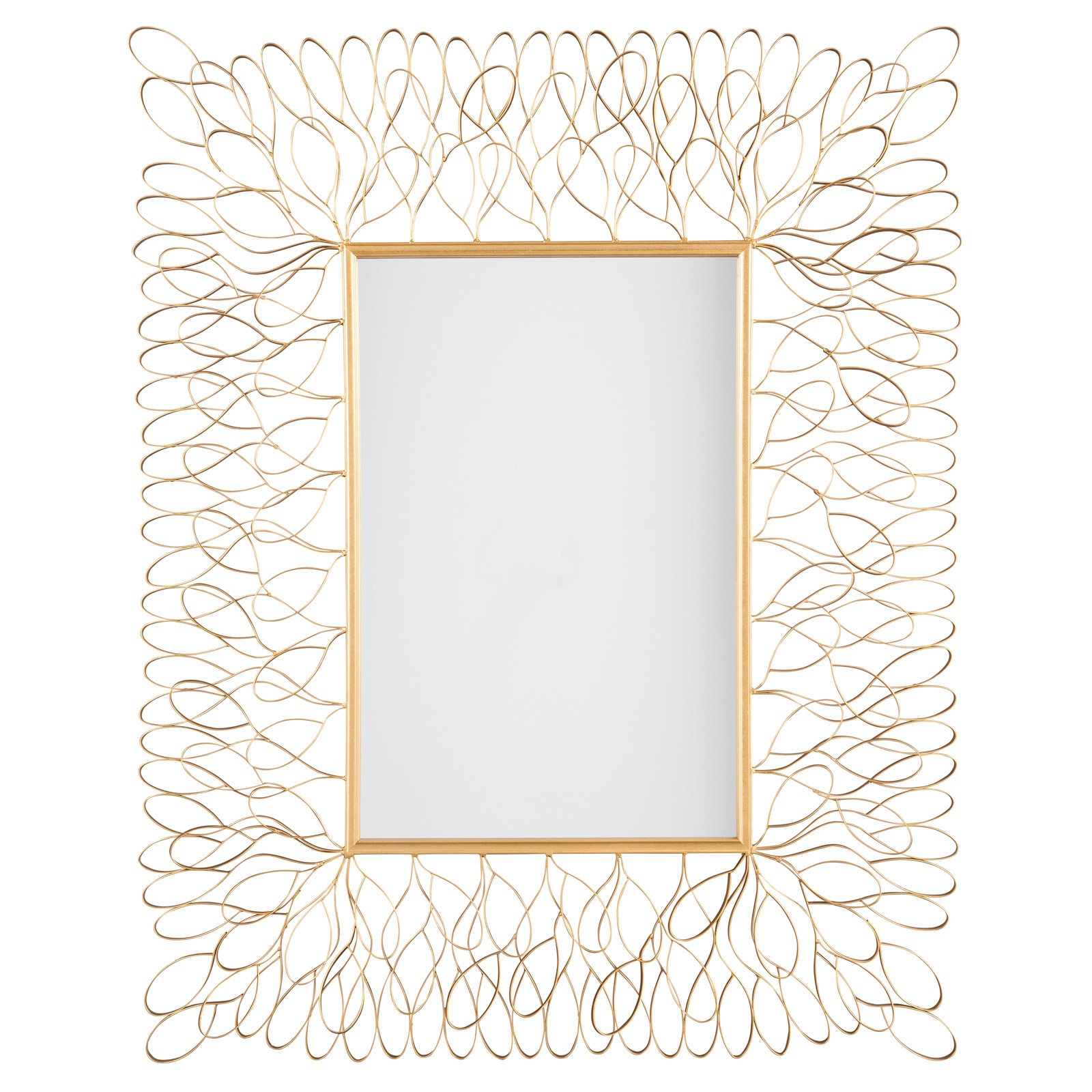 Signature Design by Ashley Ogdon Accent Wall Mirror - 39.75W x 50H in.