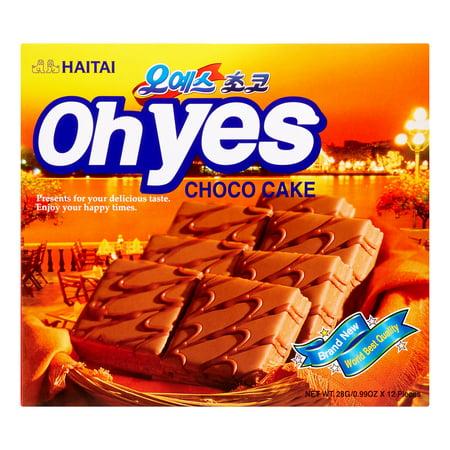 Haitai Oh Yes Choco Cake, 11.9 Oz