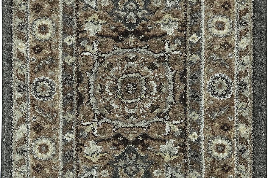 "Karastan Euphoria Rhodes Ash Grey (2' 4""x7' 10"") by Mohwak Home"