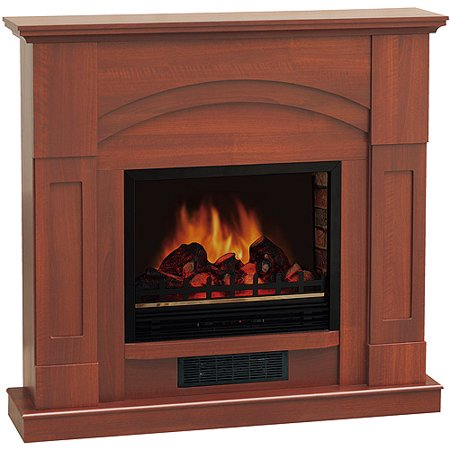 Electric Fireplace With 47 Mantle