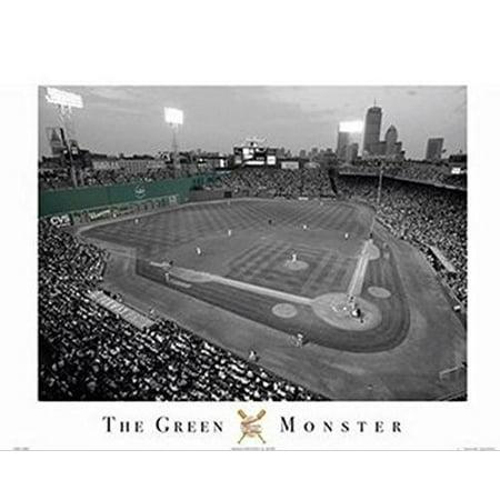 Fenway Park - Green Monster - Boston Red Sox20x16 Photograph Art Print Poster