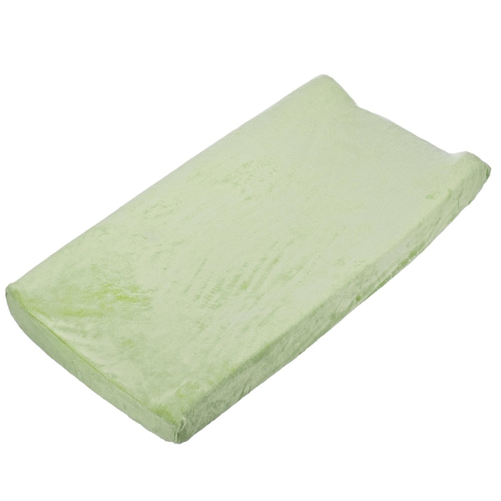 Summer Infant Changing Pad Cover, Plush, Green